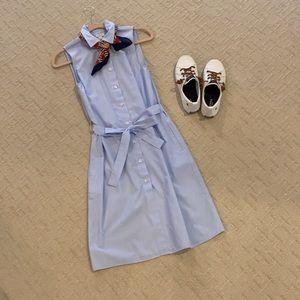 J Crew chambray shirt dress